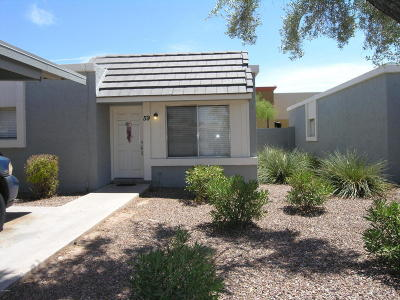Condo/Townhouse For Sale: 1050 S Stapley Drive #59