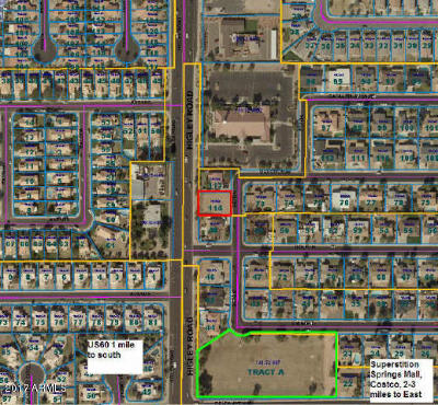 Mesa Residential Lots & Land For Sale: 654 S Seton
