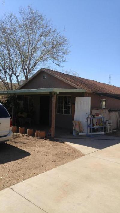 Phoenix Single Family Home For Sale: 3906 W Tonto Street