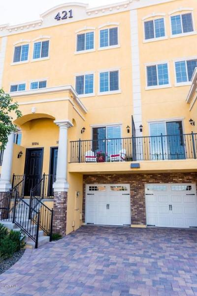 Tempe Condo/Townhouse For Sale: 421 W 6th Street #1006
