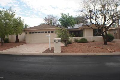 Sun Lakes Single Family Home For Sale: 26409 S Sedona Drive