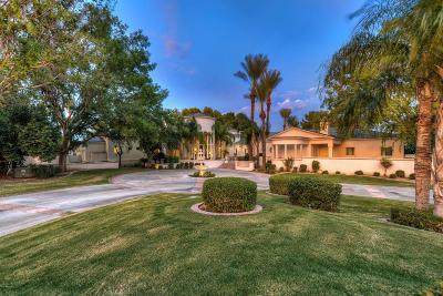 Paradise Valley Single Family Home For Sale: 6042 E Via Los Caballos
