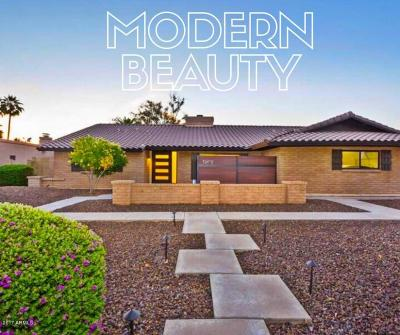 Scottsdale Single Family Home For Sale: 12472 N 74th Place
