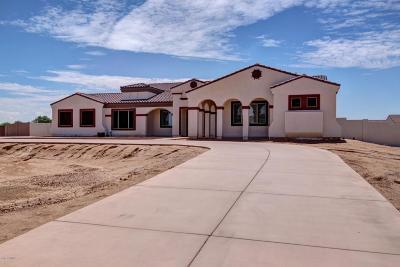 Queen Creek Single Family Home For Sale: 19541 E Via Park Street