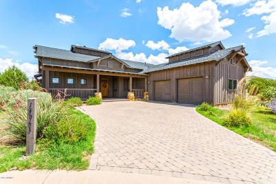 Prescott Single Family Home For Sale: 14965 N Jay Morrish Drive
