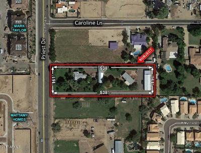Tempe Residential Lots & Land For Sale: 9255 S Priest Drive