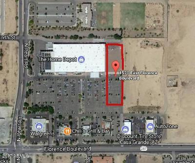 Casa Grande Residential Lots & Land For Sale: 157x E Florence Boulevard