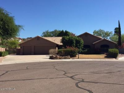 Phoenix Single Family Home UCB (Under Contract-Backups): 3604 E Tano Court