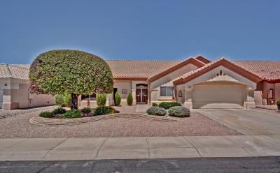 Sun City West Single Family Home For Sale: 13736 W Gunsight Drive