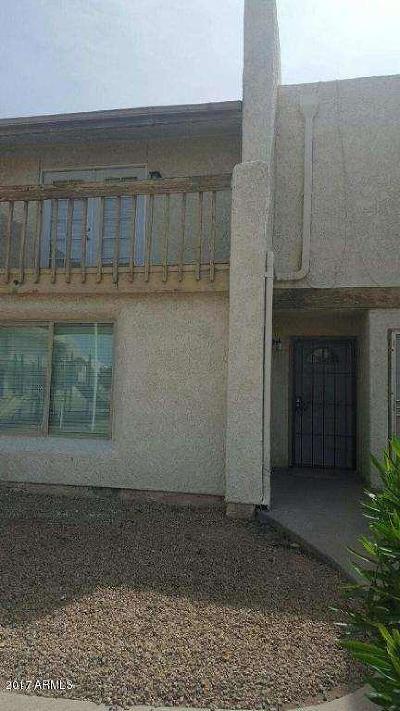 Phoenix Condo/Townhouse For Sale: 3840 N 43rd Avenue #44