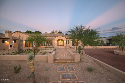 Paradise Valley Single Family Home For Sale: 6115 N 38th Place