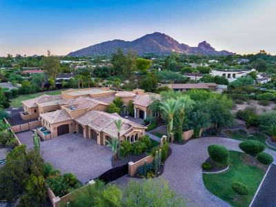 Paradise Valley Single Family Home For Sale: 6720 E Ocotillo Road