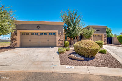 Queen Creek Single Family Home For Sale: 22451 S 215th Street