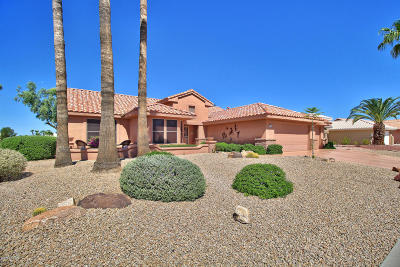 Sun City West Single Family Home For Sale: 22304 N Via Montoya
