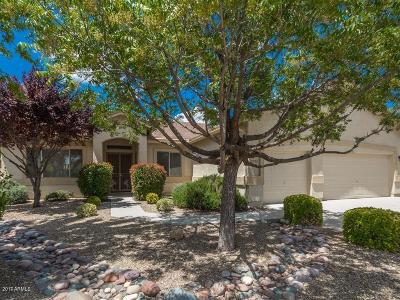 Prescott Valley Single Family Home For Sale: 6728 E Desperado Drive