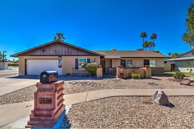 Mesa Single Family Home For Sale: 2539 W Jacinto Circle