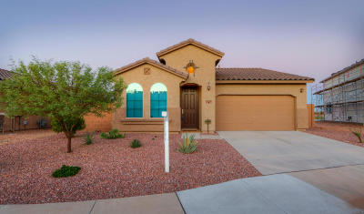 Maricopa Single Family Home For Sale: 21595 N Diamond Drive