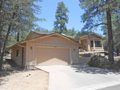 Prescott Single Family Home For Sale: 1520 Kaibab