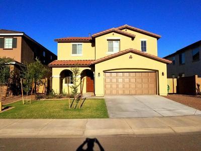 Buckeye Single Family Home For Sale: 1657 N 212th Drive