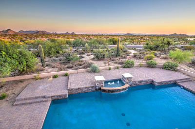 Scottsdale Single Family Home For Sale: 9721 E Suncrest Road