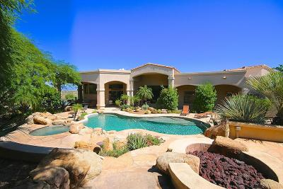 Scottsdale Single Family Home For Sale: 11305 E Troon Mountain Drive
