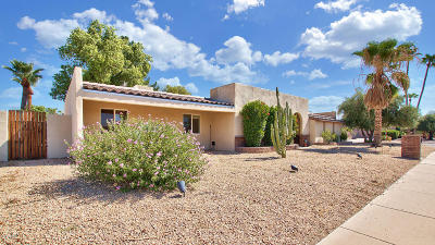 Scottsdale Single Family Home For Sale: 6944 E Thunderbird Road