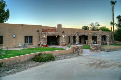 Paradise Valley Single Family Home For Sale: 4844 E Tomahawk Trail