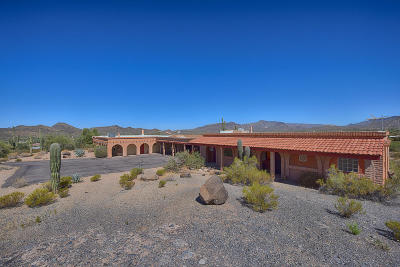 Cave Creek Single Family Home For Sale: 38467 N Basin Road