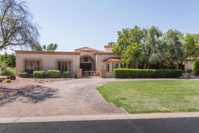 Paradise Valley Single Family Home For Sale: 6141 E Huntress Drive