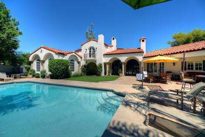 Paradise Valley Single Family Home For Sale: 6543 E Hummingbird Lane