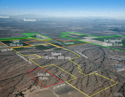 Tonopah Residential Lots & Land For Sale: W Camelback Road