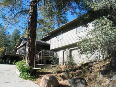 Prescott Single Family Home For Sale: 1761 Rolling Hills Drive