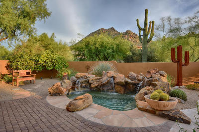 Scottsdale Single Family Home For Sale: 11017 E Desert Troon Lane