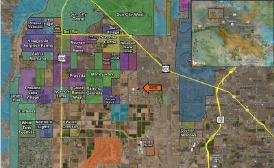 El Mirage Residential Lots & Land For Sale: N Dysart Road