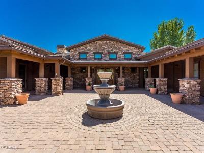 Prescott Single Family Home For Sale: 15345 N Badlands Circle