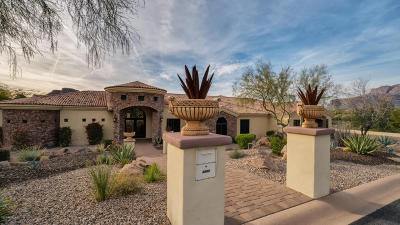 Gold Canyon AZ Single Family Home For Sale: $1,075,000