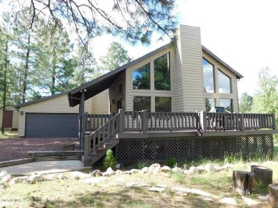 Overgaard Single Family Home For Sale: 2232 Cross Country Road