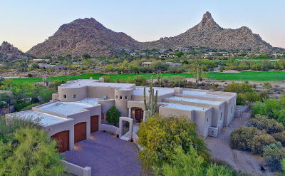 Scottsdale AZ Single Family Home For Sale: $2,000,000