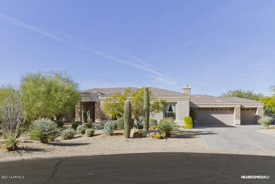 Cave Creek Single Family Home For Sale: 6002 E Saguaro Vista Court