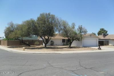 Glendale Single Family Home For Sale: 14808 N 59th Drive