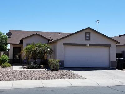 El Mirage Single Family Home For Sale: 11541 W Flores Drive