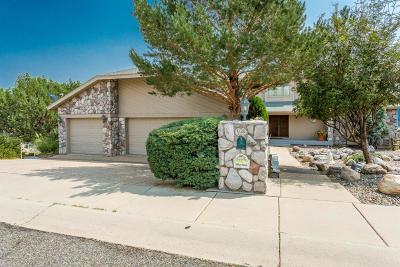 Prescott Single Family Home For Sale: 4444 N Hornet Drive