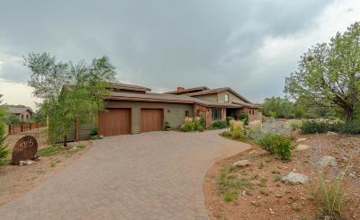 Prescott Single Family Home For Sale: 5105 W Vengeance Trail
