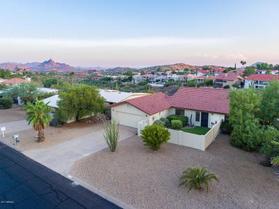 Fountain Hills Single Family Home For Sale: 15603 E Mustang Drive