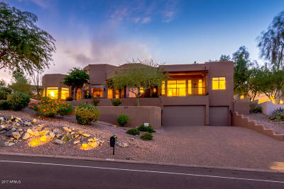 Fountain Hills Single Family Home For Sale: 15806 N Boulder Drive