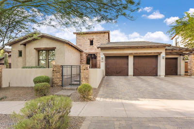 Single Family Home UCB (Under Contract-Backups): 9472 E Hidden Spur Trail