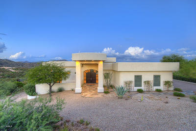 Cave Creek Single Family Home For Sale: 42435 N Sombrero Road