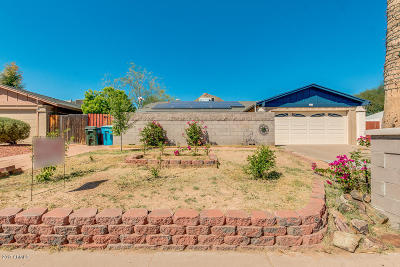 Phoenix Single Family Home For Sale: 2418 E Dahlia Drive
