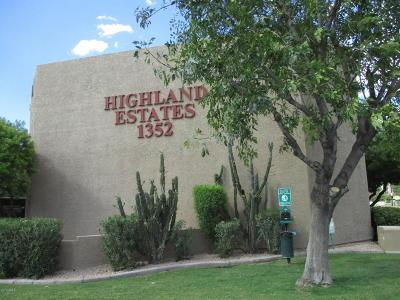 Phoenix Rental For Rent: 1352 E Highland Avenue #107