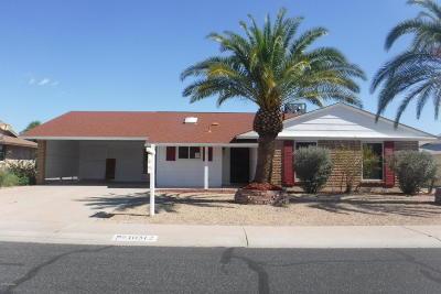 Sun City AZ Single Family Home For Sale: $171,000